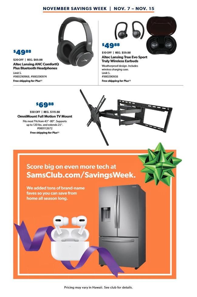 Sam's Club Ads